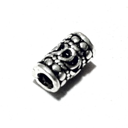 Sterling Silver Rondelle Bead Spacer 7x4 mm 1 gram