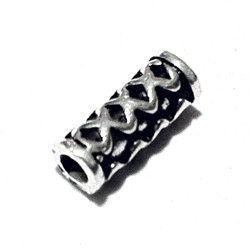 Sterling Silver Rondelle Bead Spacer 9x3 mm 1.2 gram
