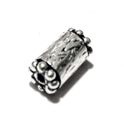 Sterling Silver Rondelle Bead Spacer 9x5 mm 1.6 gram