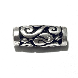 Sterling Silver Rondelle Bead Spacer 22x7 mm 2.7 gram