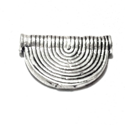 Sterling Silver Rondelle Bead Spacer 15 mm 1.4 gram