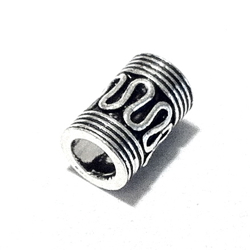 Sterling Silver Rondelle Bead Spacer 11x7 mm 1.6 gram