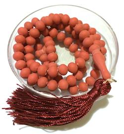 Turkish Rose Concrete Islamic Prayer Beads Perfumed 99 Namaz Tasbih
