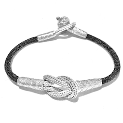 Turkish Pure Silver Scourge Mesh Filigree Bracelet