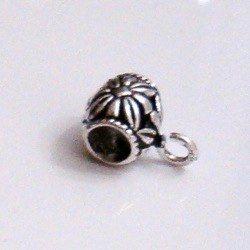 Sterling Silver Rondelle Spacer Bead 5 mm 2.5 gram