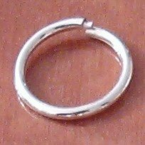Sterling Silver Spring Jump Ring 2 cm 1.5 gram