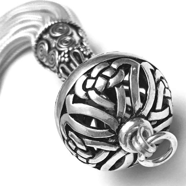 Turkish Sterling Silver Tassel 12 cm 26 gram