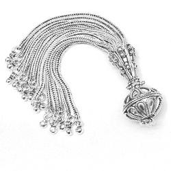 Sterling Silver Tassel 10 cm 24 gram