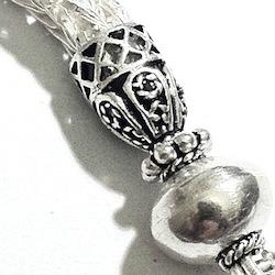 Sterling Silver Tassel 7 cm 8.4 gram