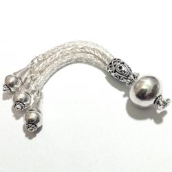 Sterling Silver Tassel 7.5 cm 9 gram