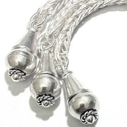 Sterling Silver Tassel 7 cm 9.2 gram