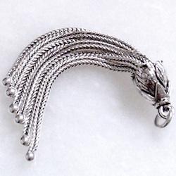 Sterling Silver Tassel 5 gram 2 inch