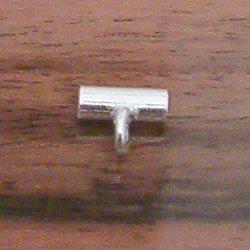 Sterling Silver Tubular Connector 8-2 mm 1 gram