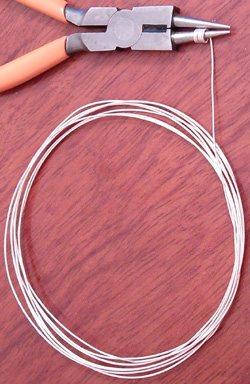 20 inch Soft Silver Wire Gauge 21 0.70 mm 2 gram