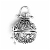 Turkish Sterling Silver Perfume Diffuser Locket 24 mm ID # 6912