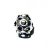 Sterling Silver Rondelle Bead Spacer 9x9 mm 1.3 gram ID # 6413