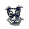 Sterling Silver Dog Rondelle Bead Spacer 10 mm 1.7 gram ID # 6424