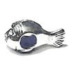 Sterling Silver Fish Rondelle Bead Spacer 16 mm 2.2 gram ID # 6428