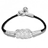 Turkish Pure Silver Scourge Mesh Filigree Bracelet ID # 6747