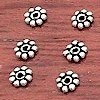 Lot of 10 Sterling Silver Spacer Bead 4 mm 1 gram ID # 3063