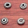 Lot of 7 Silver Bead Cap Spacer 5 mm 1 gram ID # 3103