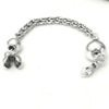 Sterling silver top attachment for tasbih 8-10 mm 98 mm ID # 6133