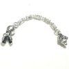 Sterling silver top attachment for tasbih 5-7 mm 7 cm ID # 6138