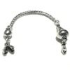 Sterling silver top attachment for tasbih 8-10 mm 105 mm ID # 6135