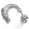 Turkish Sterling Silver Tassel 6 in 15 cm 47 gram ID # 6743