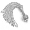 Turkish Sterling Silver Tassel 10 cm 24 gram ID # 6217