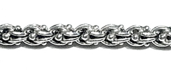 Sterling silver top attachment for tasbih 10+ mm 13 cm ID # 6552 - Click Image to Close
